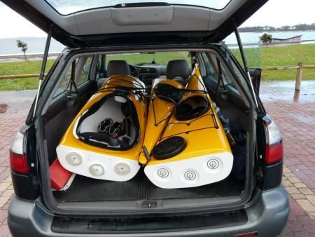 Kayaks desmontables